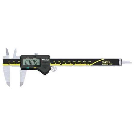 Mitutoyo Absolute Solar Digital Caliper, Stainless Steel, 500-474 by Mitutoyo