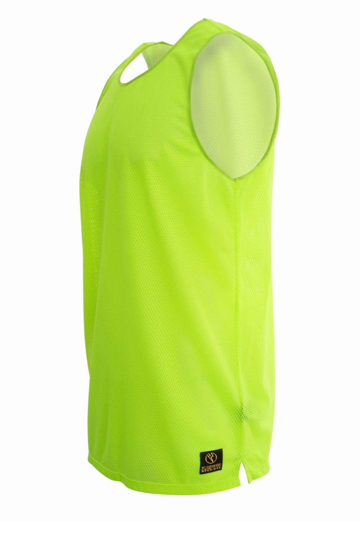 Neon Yellow  Performance Street Style Fashion Kapow Meggings Men/'s Tank Top  Sleeveless Shirt  Workout  Quick Dry Sunstrike