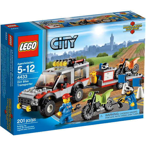 Lego City Town Dirt Bike Transporter Play Set