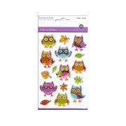 Multicraft Sticker Puffy Owls
