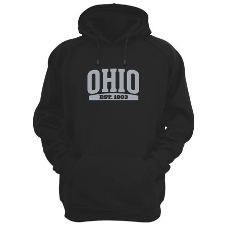 - JH Design Men's State of Ohio Souvenir Style Novelty Hoodies