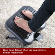 Peahefy Adjustable Height Foot Rest Stool Ergonomic Portable Comfortable Under Desk Home Office, Foot Stool