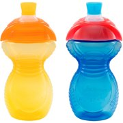 Munchkin Click Lock 9oz Bite-Proof Sippy Cup, BPA-Free, 2-Pack