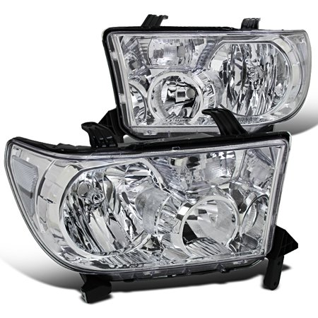 Spec-D Tuning 2007-2013 Toyota Tundra/ 2008-2014 Sequoia Replacement Headlights Lh + Rh W/ 2007 2008 2009 2010 2011 2012 2013 (Left + Right)