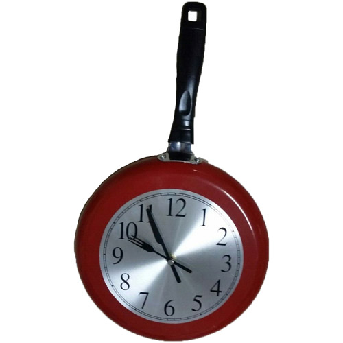 Frying Pan Clock by Generic