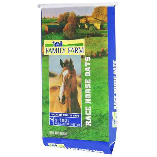 Family Farm Race Horse Oats Animal Feed, 40 lb