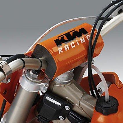 "NEW RACING ORANGE FATBAR HANDLEBAR BAR PAD SX SMR SXS07250800, FITS 1 1/8"" FATBAR HANDLEBAR By KTM Ship from US"