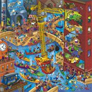 "Jigsaw Puzzle 500 Pieces Premium Edition ""The Hidden Treasure"" by Wuundentoy"
