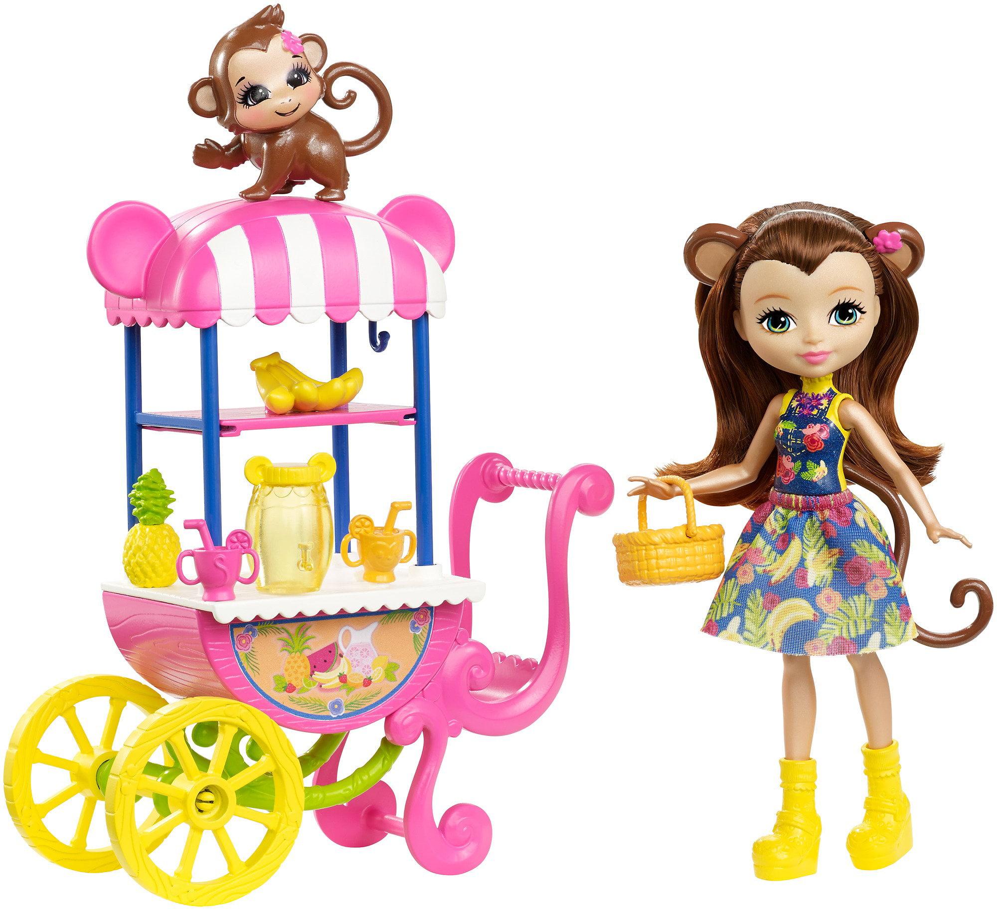 Enchantimals Fruit Cart Doll Set by Mattel