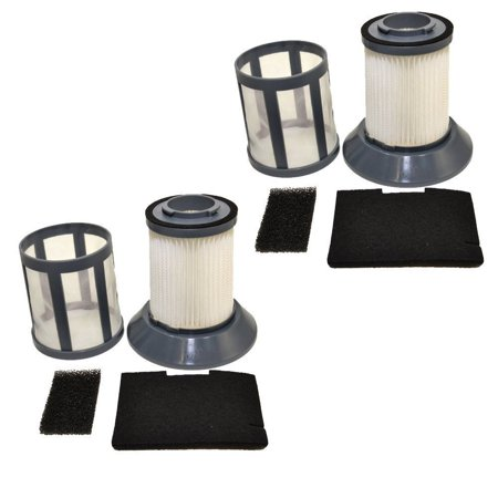 HQRP 2-pack Dirt Cup Filter for Bissell 203-1772 / 2031772, 203-1771 / 2031771 Vacuum Cleaner Filter Assembly Replacement + HQRP Coaster - image 4 de 4