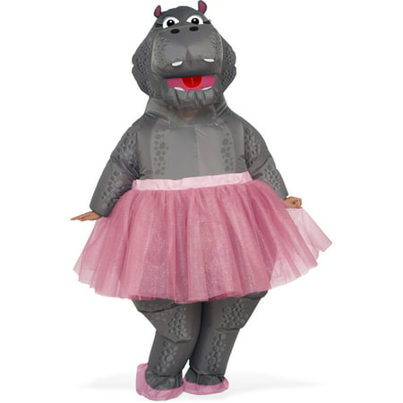 Hippo Inflatable Adult Costume - Adult Bear Costumes