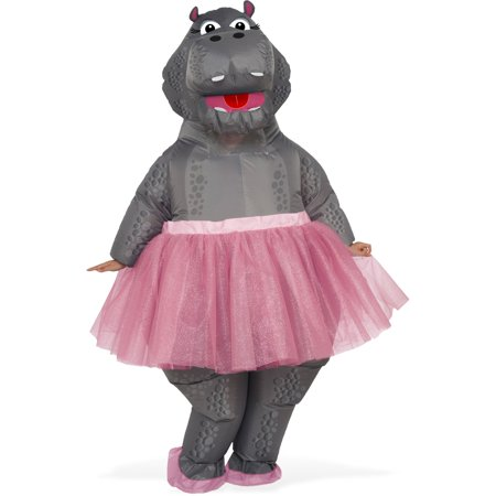Hippo Inflatable Adult Costume - Wendy Darling Costume Adults