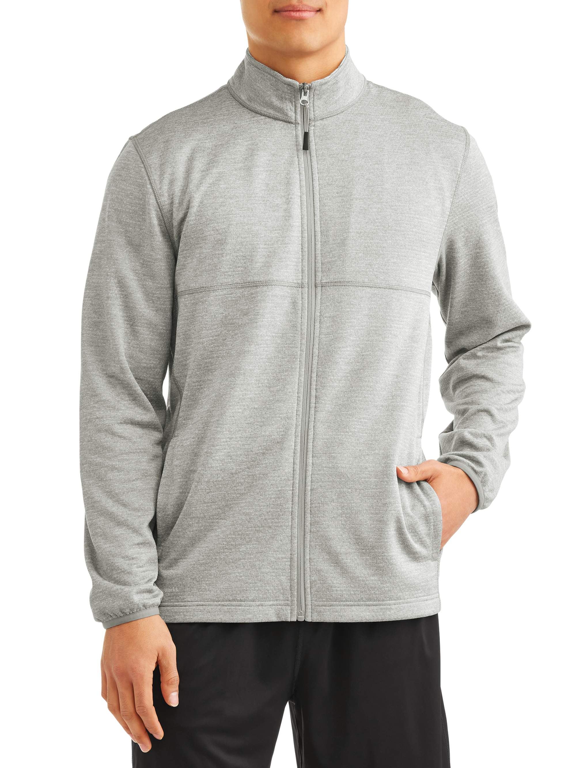 Athletic Works Men's Tech Fleece Jacket