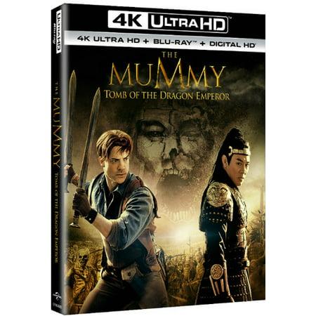 The Mummy  Tomb Of The Dragon Emperor  4K Ultra Hd   Blu Ray   Digital Hd