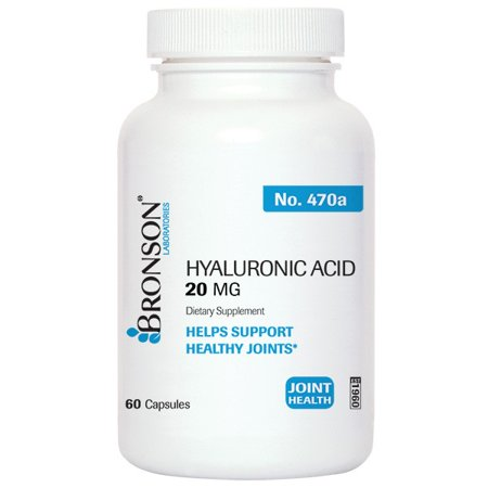 Bronson Acide Hyaluronique 20 mg, 60 capsules