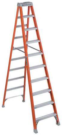 Louisville 10 Foot Type Ia Duty Rating 300 Lbs Load Capacity Fibergl Step Ladder Fs1510 Walmart Com