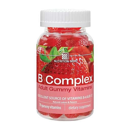Nutrition Now B Complex Adult Gummy Vitamins 70 Gummies