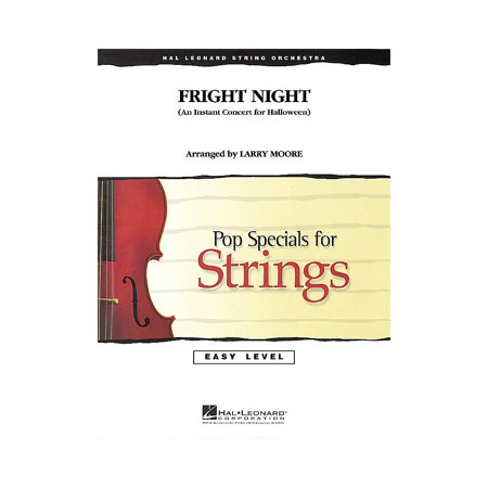 Hal Leonard Fright Night (An Instant Concert for Halloween) Easy Pop Specials For Strings Series by Larry Moore - Top Of The Pops 2 Halloween Special