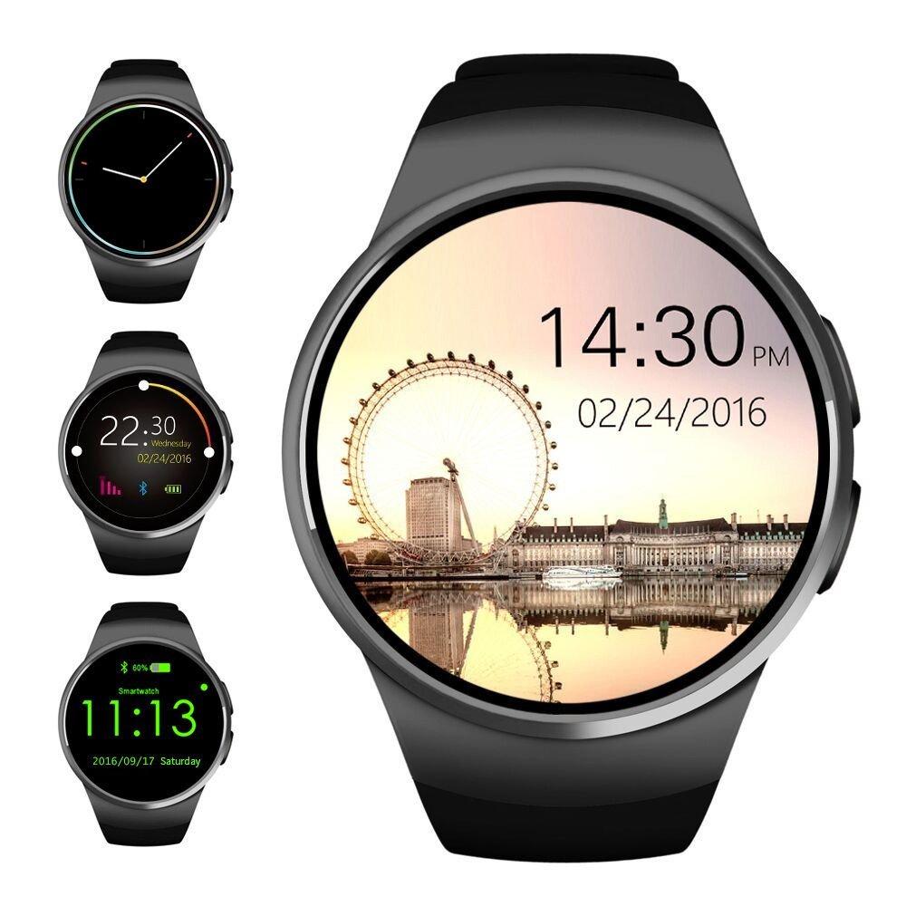 Best Bluetooth Watches - AGPtek Bluetooth Smart Watch Phone SIM TF Sleep Review