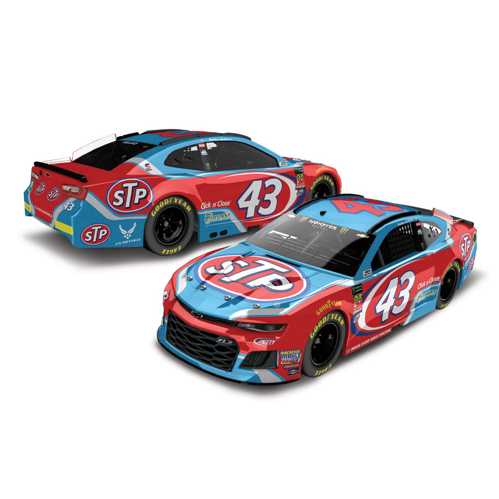 Lionel Racing Bubba Wallace #43 STP 2018 Chevrolet Camaro 1:24 Scale HO Die-cast