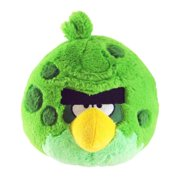 "Angry Birds 5"" Green Space Bird Plush Officially Licensed"