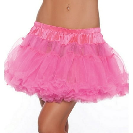 Kate Moss Halloween Costume (Hot Pink Hot Pink Kate Mini Petticoat Be Wicked BW889 Hot)