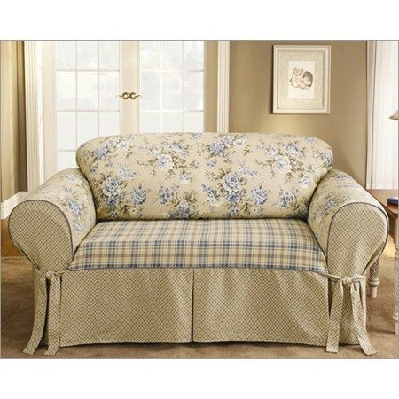Pleasant Sure Fit Lexington Box Cushion Sofa Slipcover Walmart Com Ncnpc Chair Design For Home Ncnpcorg