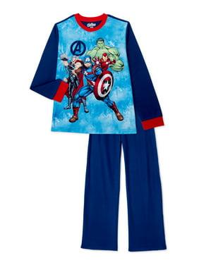 DISNEY MARVEL Spider-Man Boys' Flannel Pajamas 2-Piece size 4//5 6//7 8 10//12