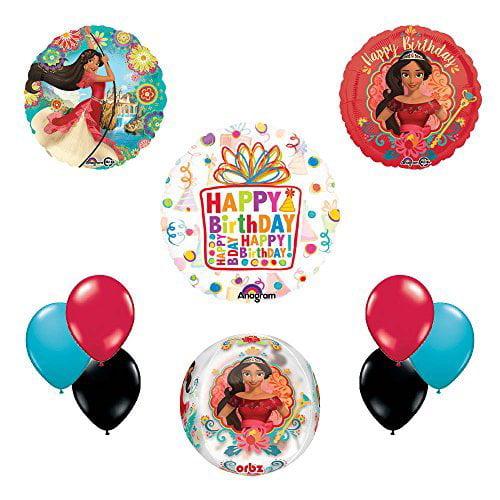 Princess Elena Of Avalor Birthday Party CUBEZ Balloon Kit Decorating Supplies