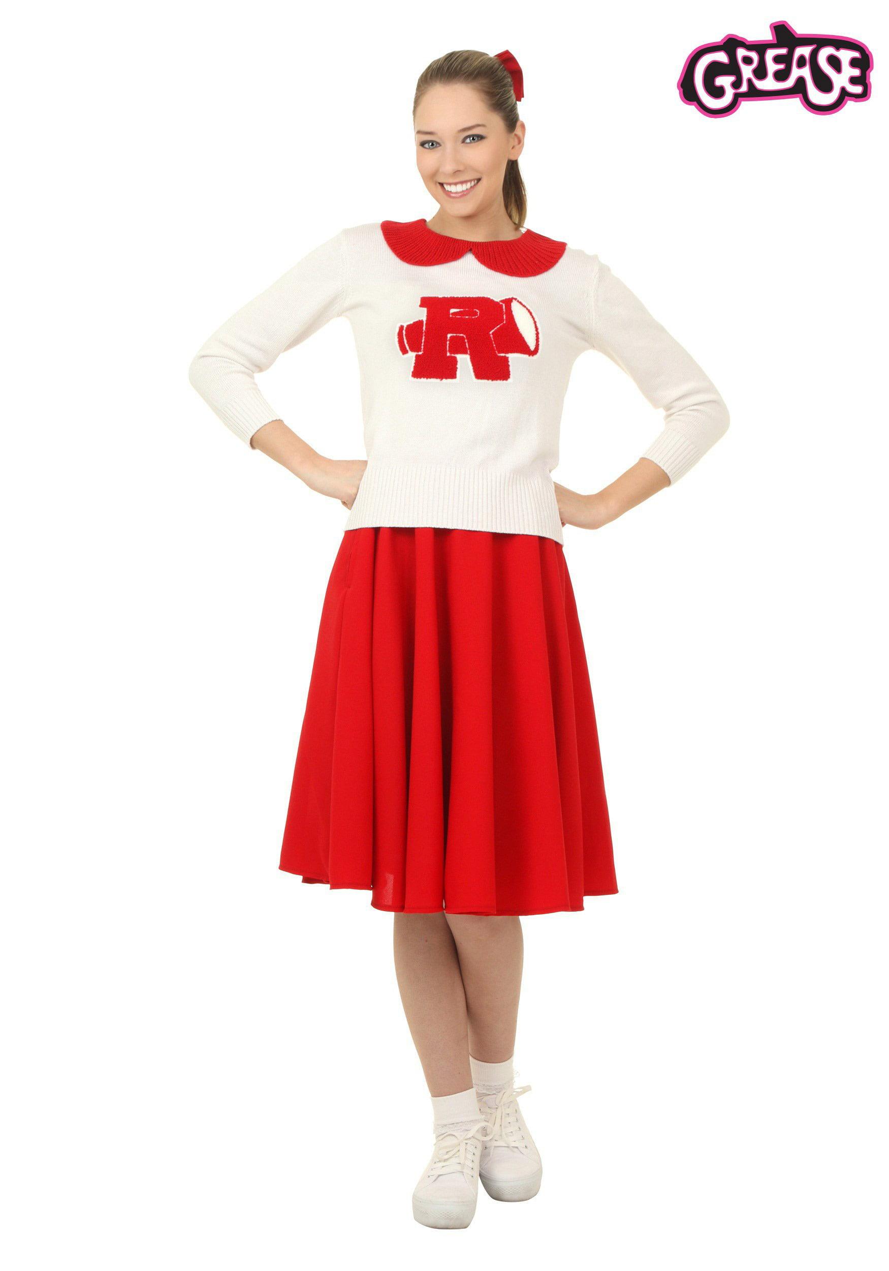 sc 1 st  Walmart & Womenu0027s Grease Rydell High Cheerleader Costume - Walmart.com