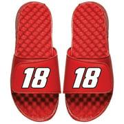Kyle Busch ISlide Number Slide Sandals - Red