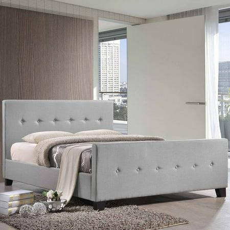 Modway Abigail King Upholstered Platform Bed, Multiple Colors