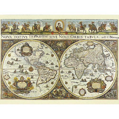Ravensburger  World Map, 1665 Jigsaw Puzzle