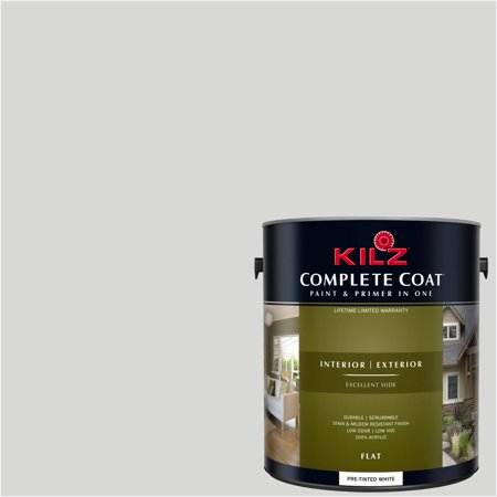 KILZ COMPLETE COAT Interior/Exterior Paint & Primer in One #RJ180 Lilac Cream
