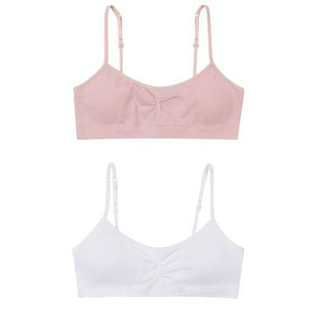 cbf7e2c65edf7 Hanes - Girls  Seamless Molded Wire-Free Bra