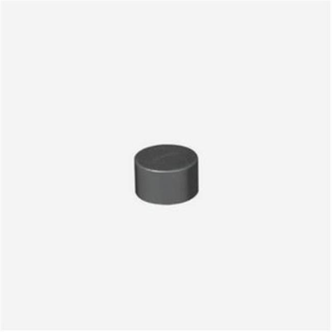 Jesco Lighting SD108CC-CAP-B 12 in. End Cap - Black