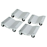 Set of 4 Heavy Duty Tire Wheel Dolly Vechicle Moving Dolly -27018