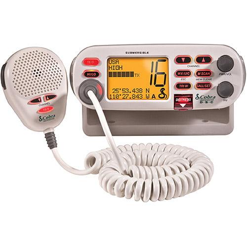Cobra MR-F75D VHF Marine Large Screen Radio