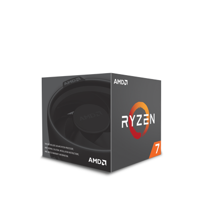 AMD RYZEN 7 2700 8-Core 3.2 GHz Socket AM4 65W Desktop Processor
