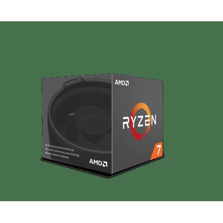 AMD Ryzen 7 2700 8-Core 3.2 GHz Socket AM4 65W Desktop Processor YD2700BBAFBOX ()