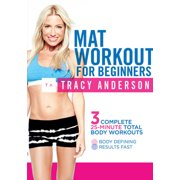 TRACY ANDERSON-MAT WORKOUT FOR BEGINNERS (DVD) (DVD)