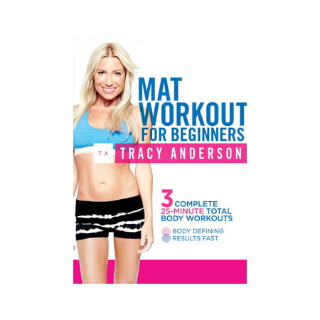 TRACY ANDERSON-MAT WORKOUT FOR BEGINNERS (DVD)