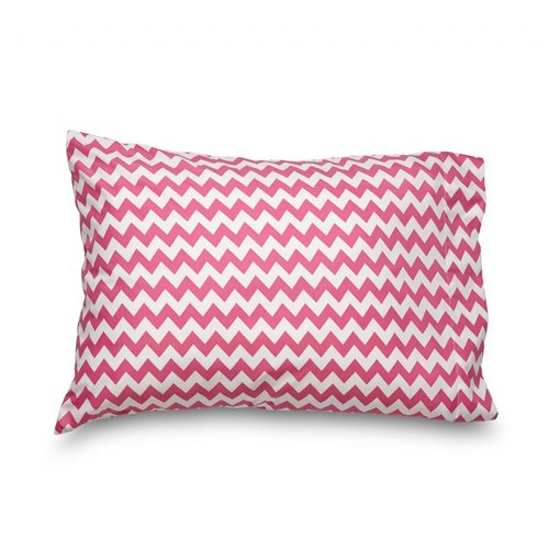 Where the Polka Dots Roam Queen Chevron Double Brushed Ultra Microfiber Pillowcase (Set of 2)