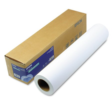 "Epson Enhanced Photo Paper, Enhanced Matte, 24"" x 100 ft, Roll -EPSS041595"