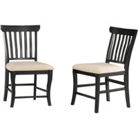 Venetian Dining Chair with Oatmeal - Espresso