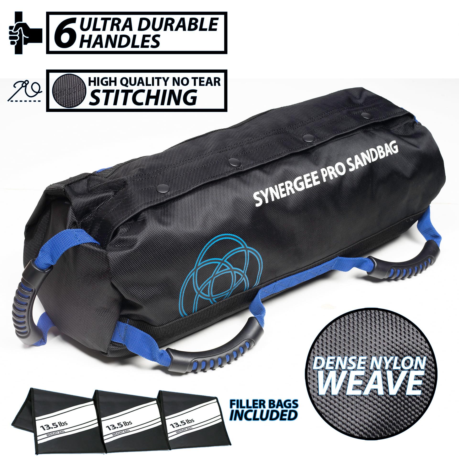 Synergee Adjustable Fitness Sandbag From 10lbs To 100lbs Adjustable Sandbags With Filler Bags Heavy Duty Weight Bag Walmart Com Walmart Com