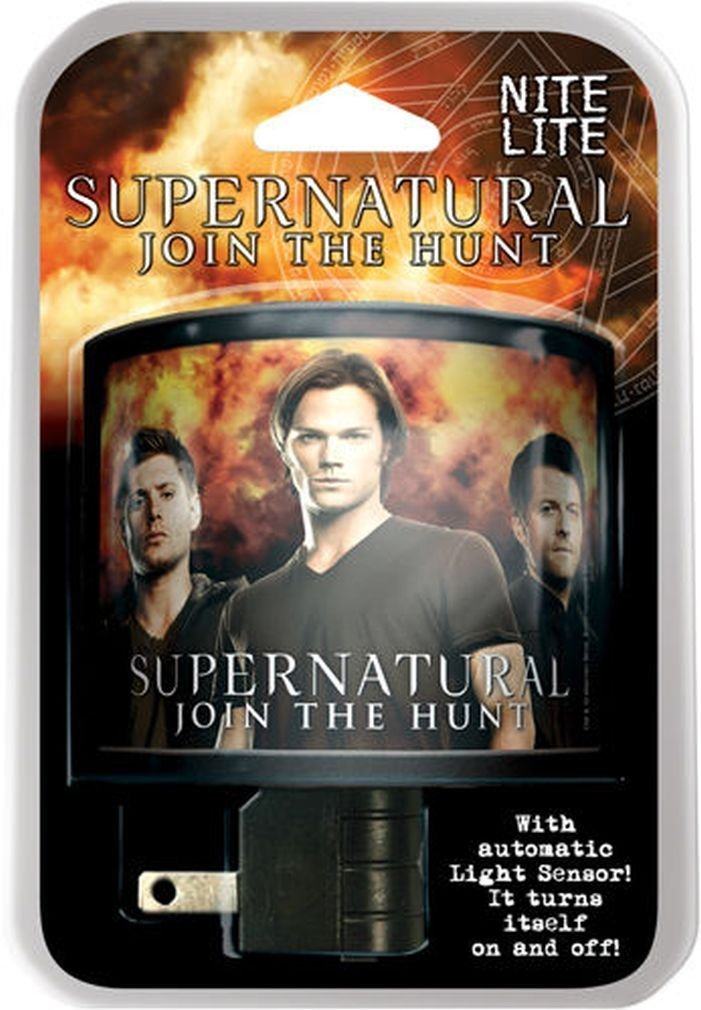 Supernatural Dean, Castiel and Sam Nite Lite, There's always a good place for a night... by