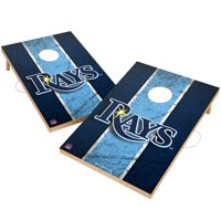 Tampa Bay Rays 2' x 3' Solid Wood Cornhole Vintage Game Set