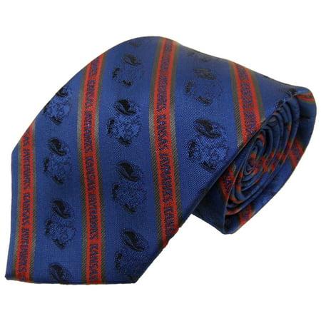Kansas Jayhawks Prep Necktie - Kansas Jayhawks Necktie