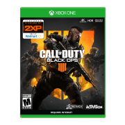 Call of Duty: Black Ops 4, Activision, Xbox One – Purchase the game to get 2XP – Only at Walmart